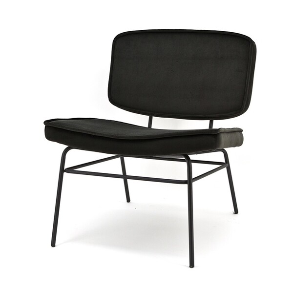 Fauteuil lounge chair Vice black