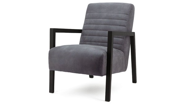 Fauteuil Lars antraciet adore